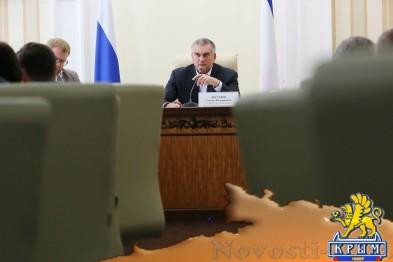 Аксёнов провёл видеоселектор с главами регионов Крыма (ФОТО) - «Симферополь»