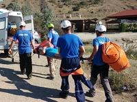 Спасатели г. Судак успешно провели операцию по эвакуации пострадавшей туристки из горно-лесной зоны - «МЧС»