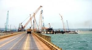 Крымский мост теперь под санкциями - «Керчь»