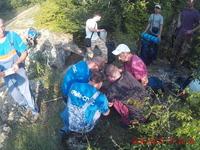 Крымские спасатели оказали помощь двум туристам в горно-лесной зоне - «МЧС»