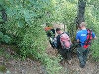 Спасатели «КРЫМ-СПАС» успешно эвакуировали пострадавшего туриста из г. Чебоксары с горы Аю-Даг - «МЧС»