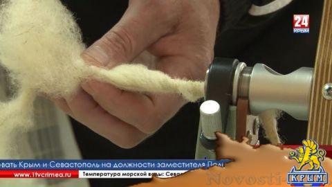 Современную прялку сконструировал крымский изобретатель  - (видео)
