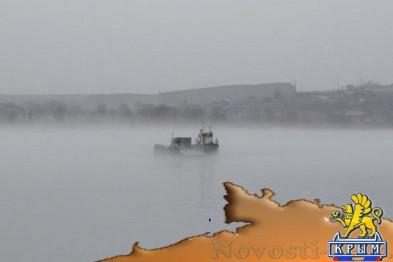 Утренний туман заблокировал работу Керченской переправы (обновлено) - «Симферополь»