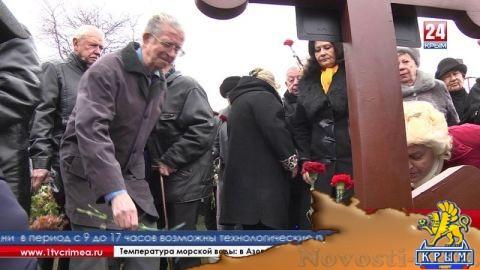 Погибшего под Ленинградом бойца предали земле в его родном Крыму  - (видео)