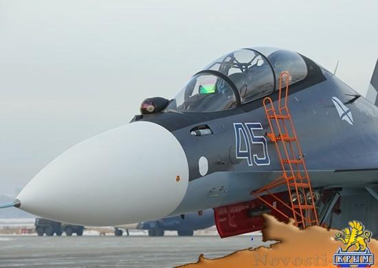 На Черноморский флот поступили новые истребители - «Армия и флот»
