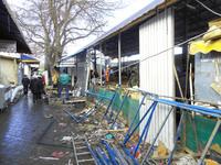 Нарушитель спустя год судебных тяжб приступил к демонтажу самостроя на Центральном рынке Симферополя - Александр Спиридонов - «Госкомрегистр»