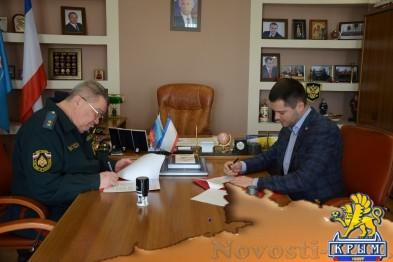 «ОПОРА РОССИИ» и крымское управление МЧС подписали соглашение о сотрудничестве - «Симферополь»