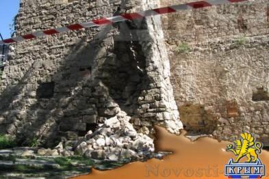 Власти Феодосии выделили средства на ремонт башни Константина - «Феодосия»