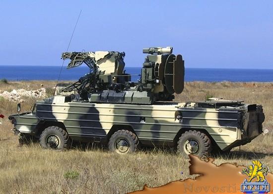 Зенитчики ЧФ выполняют полевой выход в районе интенсивных полетов авиации - «Армия и флот»