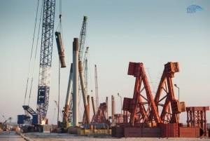 Уже готово 50% опор и 70% свай Керченского моста - «Керчь»