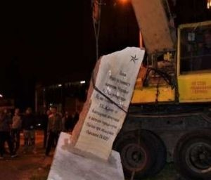 Обыкновенный фашизм: ко Дню Победы в Одессе снесли памятный знак Жукову - «Происшедствия Крыма»