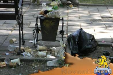 За неделю из Симферополя вывезли более 2 тысяч тонн мусора - «Симферополь»