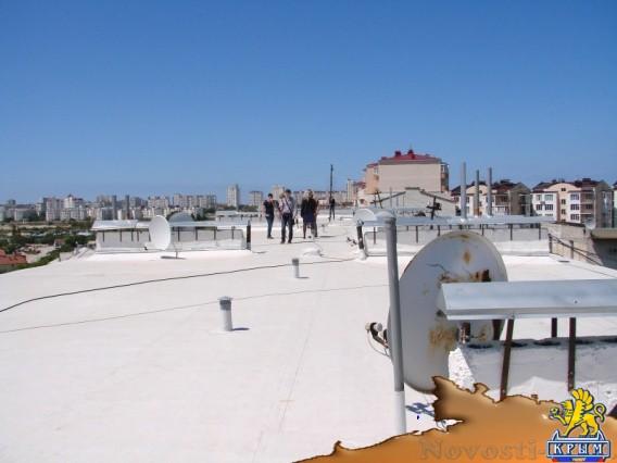 Крышу отремонтировали по новым технологиям - «Технологии»