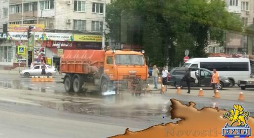 Власти Симферополя убрали после субботнего ливня 60 тонн грязи и почти 20 упавших деревьев - «Общество Крыма»