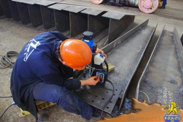 Керченский «Залив» приступил к изготовлению пролётов для Крымского моста (ФОТО) - «Экономика Крыма»