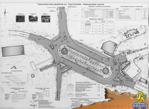 Севастопольскую развязку «Огурец» будут доделывать до августа 2016 года  - «Транспорт Крыма»