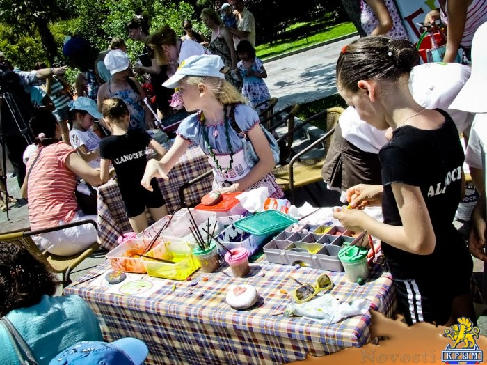 1 июня в Ялте. Праздник детского творчества «Под солнцем», фоторепортаж - «Культура»