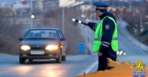В Крыму в выходные будут ловить пьяных водителей  - «Транспорт Крыма»