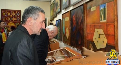 Персональная выставка крымско-татарского художника Мамута Чурлу открылась в Симферополе (ФОТО) - «Культура Крыма»
