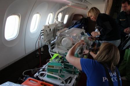 Спецборт МЧС России доставит из Крыма в Москву двух пациентов - «МЧС»