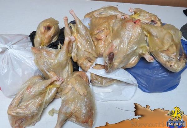 Россельхознадзор вернул в Украину около полутоны мяса, сала и меда, которые пытались провезти в Крым (ФОТО) - «Симферополь»