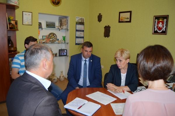Уполномоченный по правам ребенка в Республике Крым Ирина Клюева провела выездной прием в городе Евпатория - «Правам ребёнка»