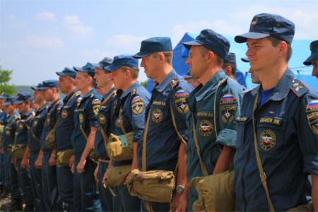 На полуострове завершилась комплексная тренировка сил и средств РСЧС - «МЧС»