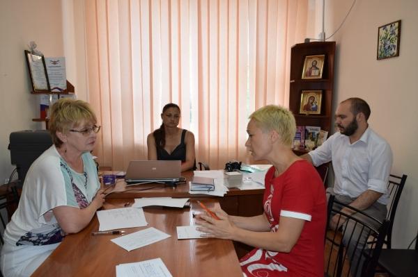 Уполномоченный с рабочей поездкой посетила Раздольненский район - «Правам человека»