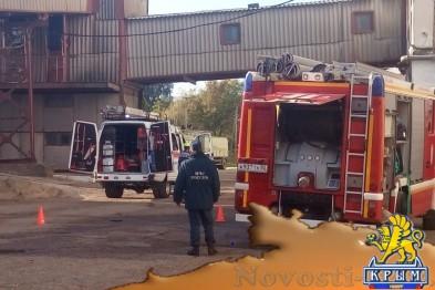 Трое погибших, девятеро пострадавших, все - условно: На Симферопольском комбинате хлебопродуктов прошли учения - «Симферополь»
