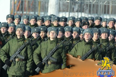Путин подписал указ о признании воинских званий крымских контрактников  - «Общество»