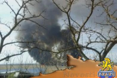 В Феодосии на протяжении 7 часов горел камыш - «Феодосия»