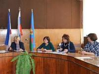 Ирина Клюева посетила г. Красноперекопск с рабочим визитом - «Правам ребёнка»