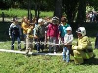«День знаний пожарной безопасности» для малышей - «МЧС»