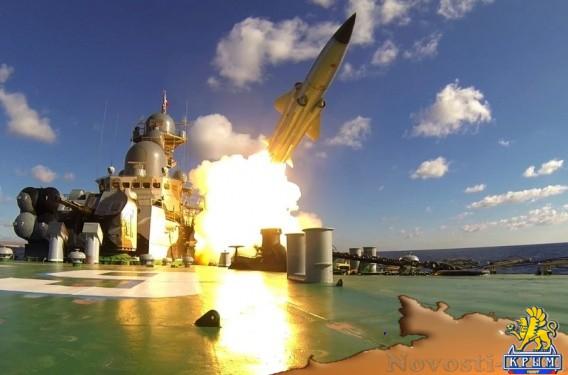 Черноморский флот поразил корабли условного противника крылатыми ракетами - «Армия и флот»