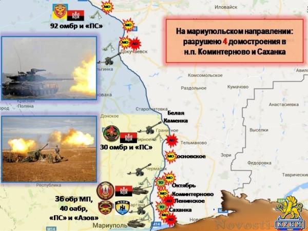 Украинские агрессоры за неделю выпустили по территории ДНР почти четыре тысячи снарядов и мин (ИНФОГРАФИКА) - «Происшедствия Крыма»