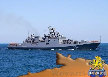 Новый фрегат Черноморского флота В«Адмирал ЭссенВ» прибыл в Севастополь - «Политика Крыма»