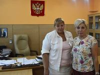 Ирина Клюева с рабочим визитом посетила Региональное отделение Фонда социального страхования Российской Федерации по Республике Крым - «Правам ребёнка»