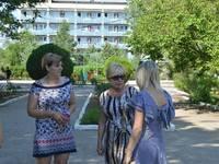 """Уполномоченный по правам ребенка в Республике Крым посетила детский лагерь """"Тимуровец"""" - «Правам ребёнка»"""