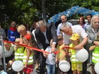 Ирина Клюева приняла участие в торжественном мероприятии, посвященном 81 годовщине со дня основания ГИБДД - «Правам ребёнка»