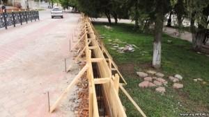 Подпорную стену в Керчи строят с нарушениями - «Керчь»