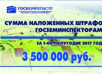 Госкомрегистр продолжает ужесточать борьбу с нарушителями в сфере земельного законодательства — Александр Спиридонов - «Госкомрегистр»