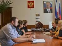 Уполномоченный по правам ребенка в Республике Крым посетили г. Ялту - «Правам ребёнка»