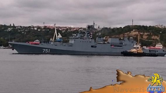 Фрегат «Адмирал Эссен» вернулся в Севастополь - «Армия и флот»