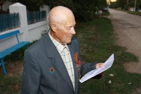 Специалисты Госкомрегистра в оперативном порядке оформили документы на дом и земельный участок ветерану войны из Симферопольского района - «Госкомрегистр»