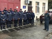 Специалисты ГКУ РК «Пожарная охрана Республики Крым» проходят очередные ежегодные испытания по служебной подготовке - «МЧС»