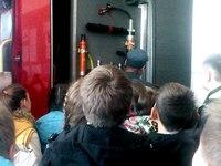 Крымские школьники посетили пожарно-спасательную часть - «МЧС»