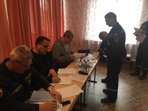 Специалисты ГКУ РК «Пожарная охрана Республики Крым» продолжают сдавать зачеты по профессиональной подготовке - «МЧС»