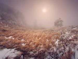 Евпаториец заблудился на ЧатырДаге изза снега и тумана     - «Происшествия Крыма»