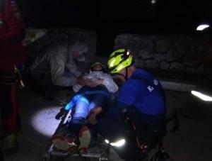 В Крыму туристка сорвалась с горы     - «Происшествия Крыма»
