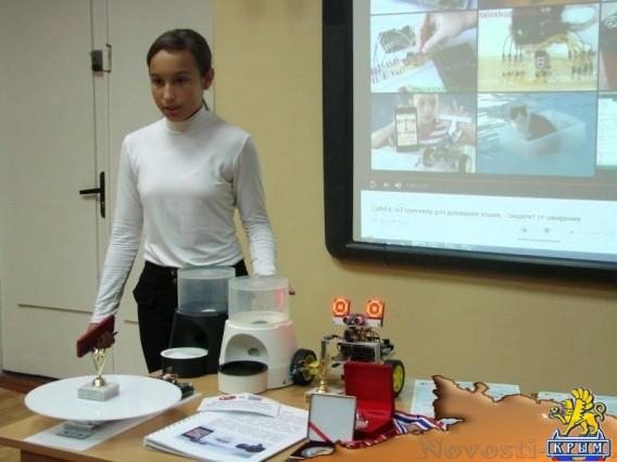 Школьница придумала спортивный тренажер для ленивых котов - «Технологии»